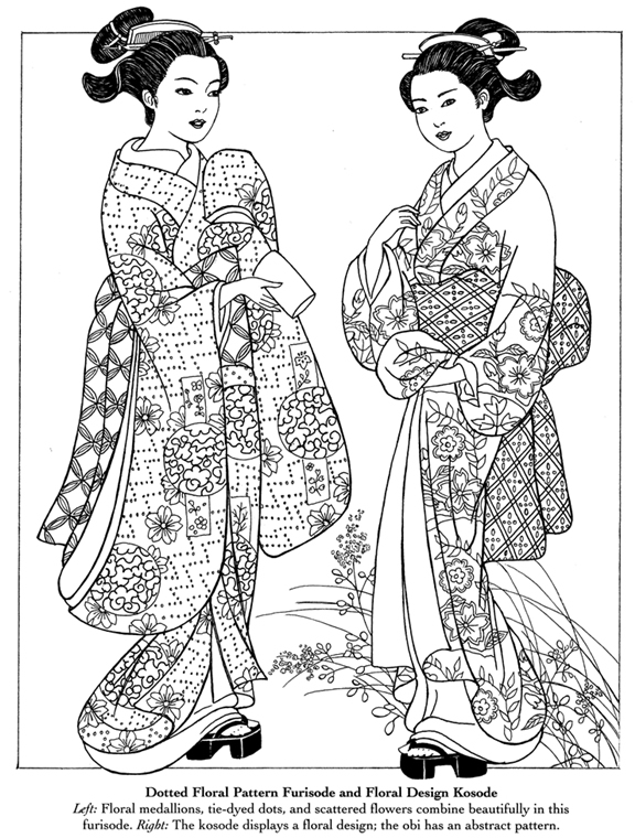 Geisha Coloring Pages For Adults Coloring Pages Geisha Coloring Pages